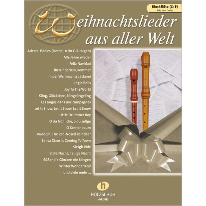 Weihnachtslieder aus aller Welt (Solo oder Duett) - Weihnachtsmusik ...