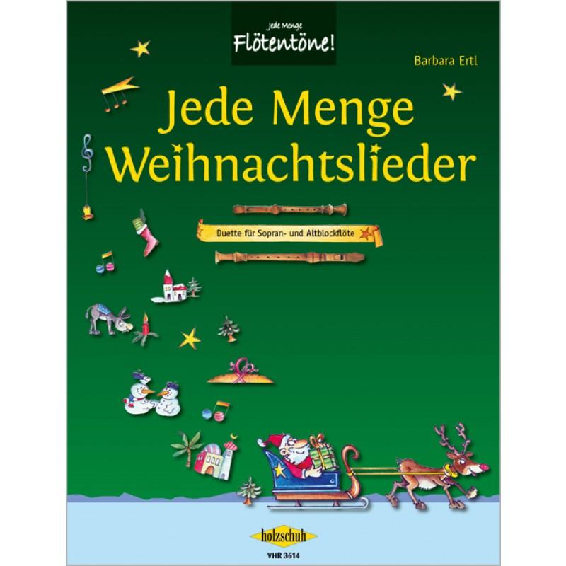 Jede Menge Weihnachtslieder - Spielliteratur - Altblockflöte ...