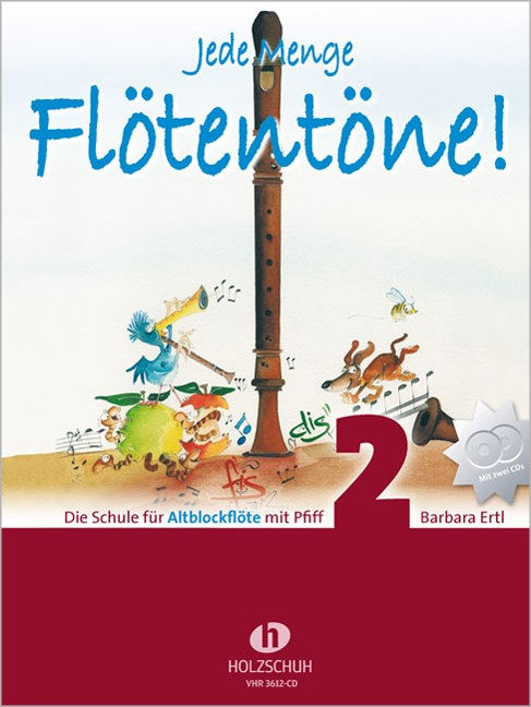 Schule für Sopranblockflöte 3618 Jede Menge Flötentöne Band 2