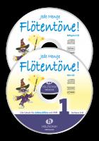 Jede Menge Flötentöne! Band 1 (2 CDs ohne Buch)