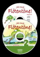 Jede Menge Flötentöne!, Band 2 (2CDs ohne Buch)