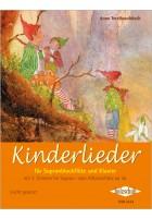 Kinderlieder für Sopranblockflöte und Klavier
