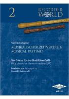 Musikalischer Zeitvertreib - 4 Stücke