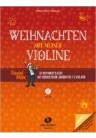 Weihnachten mit meiner Violine (mit CD)