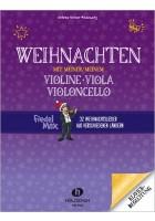 Weihnachten mit meiner/meinem Violine, Viola, Vc