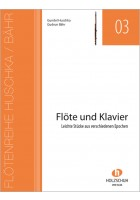 Heft für Flöte und Klavier