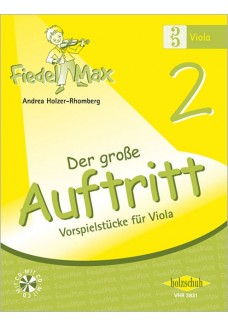 Fiedel-Max für Viola  - Der große Auftritt Band 2