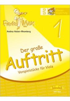 Fiedel-Max für Viola  - Der große Auftritt Band 1