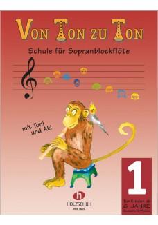 Von Ton zu Ton, Band 1 (deutsche Griffweise)