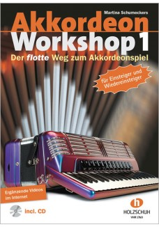 Akkordeon Workshop, Band 1