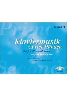 Klaviermusik zu vier Händen, Band 3