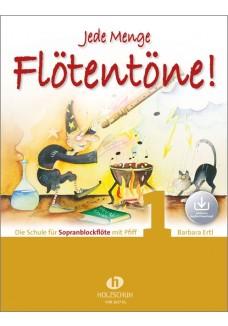 Jede Menge Flötentöne! 1 (mit Audio-Download)