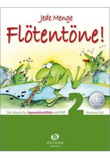 Jede Menge Flötentöne! 2 (mit Audio-Download)