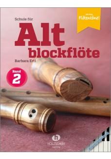 Schule für Altblockflöte 2 – Klavierbegleitung