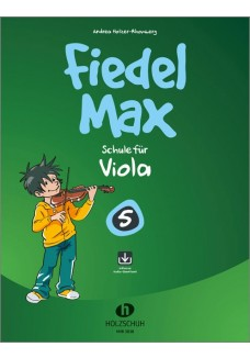 Fiedel-Max 5 Viola (mit Download)