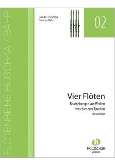Heft für 4 Flöten