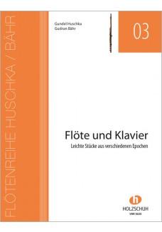 Heft für Flöte und Klavier