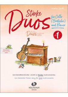 Starke Duos für Cello (Bratsche) und Klavier